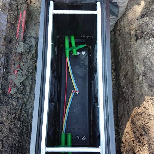 Handhole glasvezel tubes HDPE